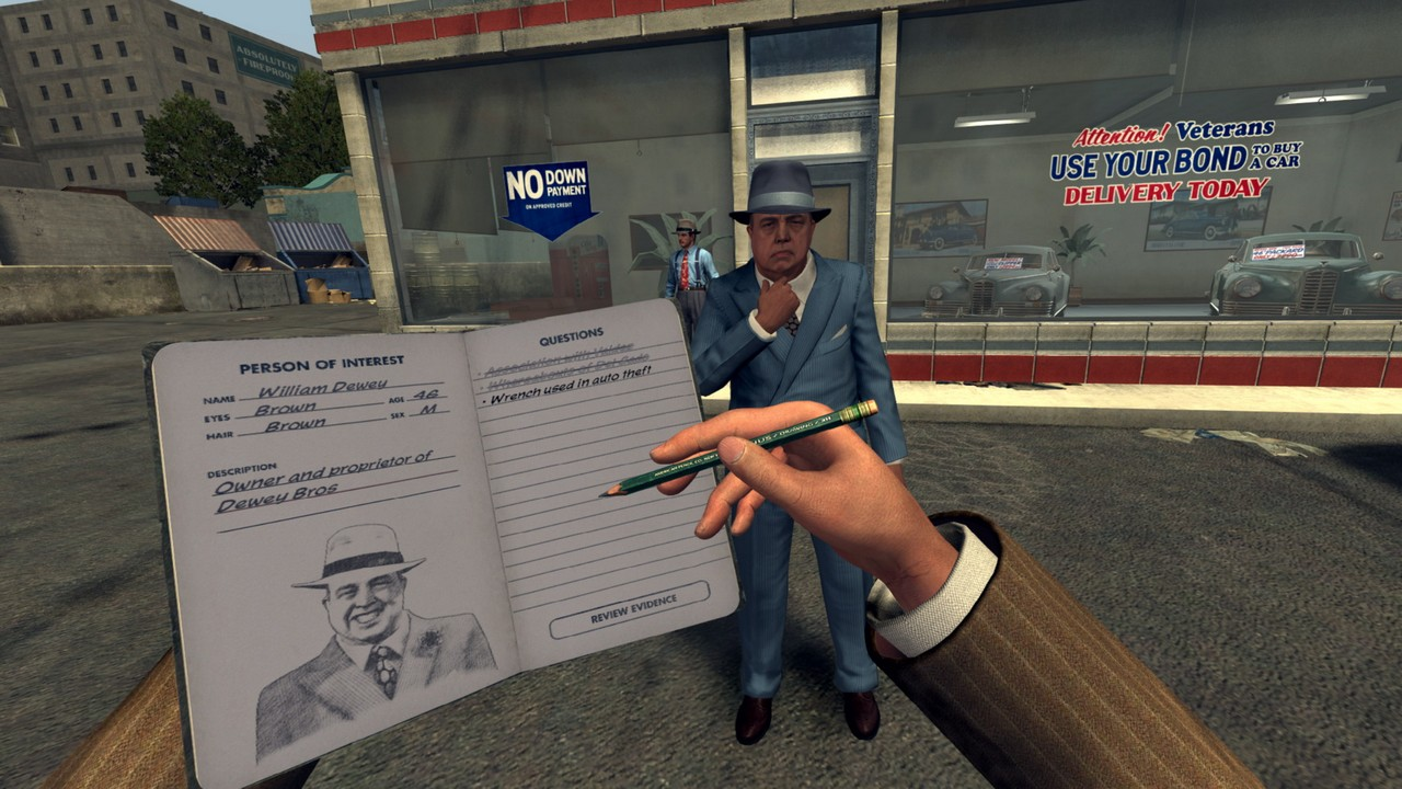 LA Noire The VR Case Files