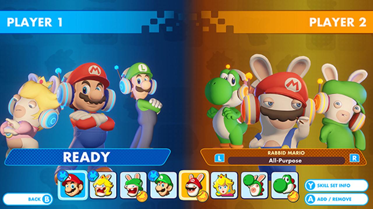 Mario + Rabbids Kingdom Battle si aggiorna domani con la Versus Mode