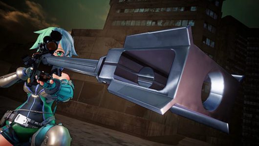 Sword Art Online Fatal Bullet trailer lancio