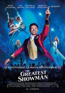 The Greatest Showman immagine Cinema locandina