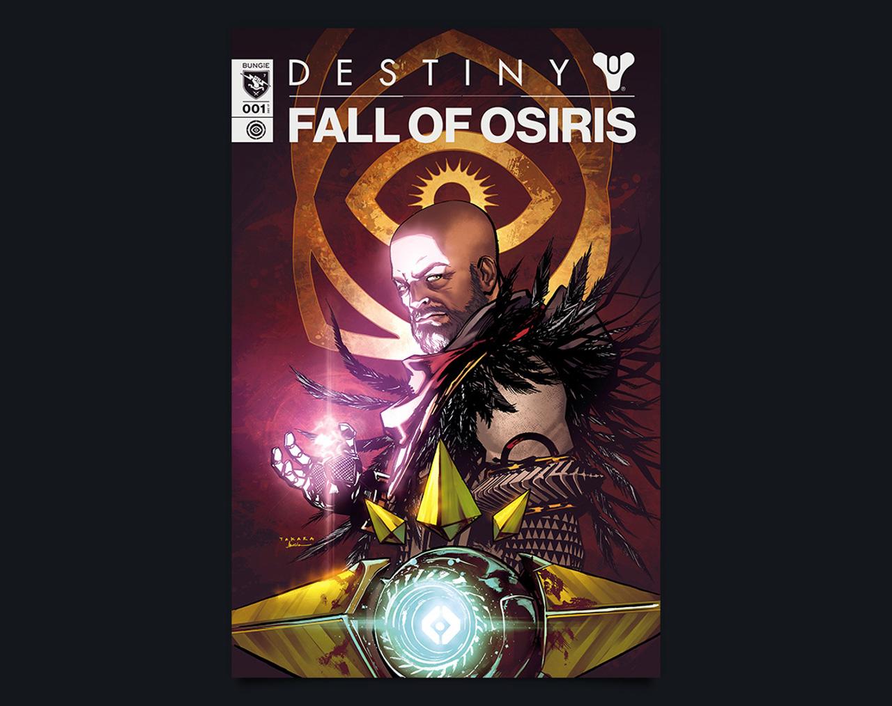 """Destiny 2: annunciata la prima serie a fumetti web """"Fall of Osiris"""""""