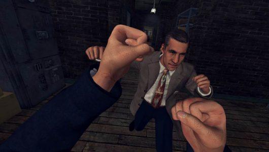 L.A. Noire The VR Case Files per HTC Vive è disponibile da oggi