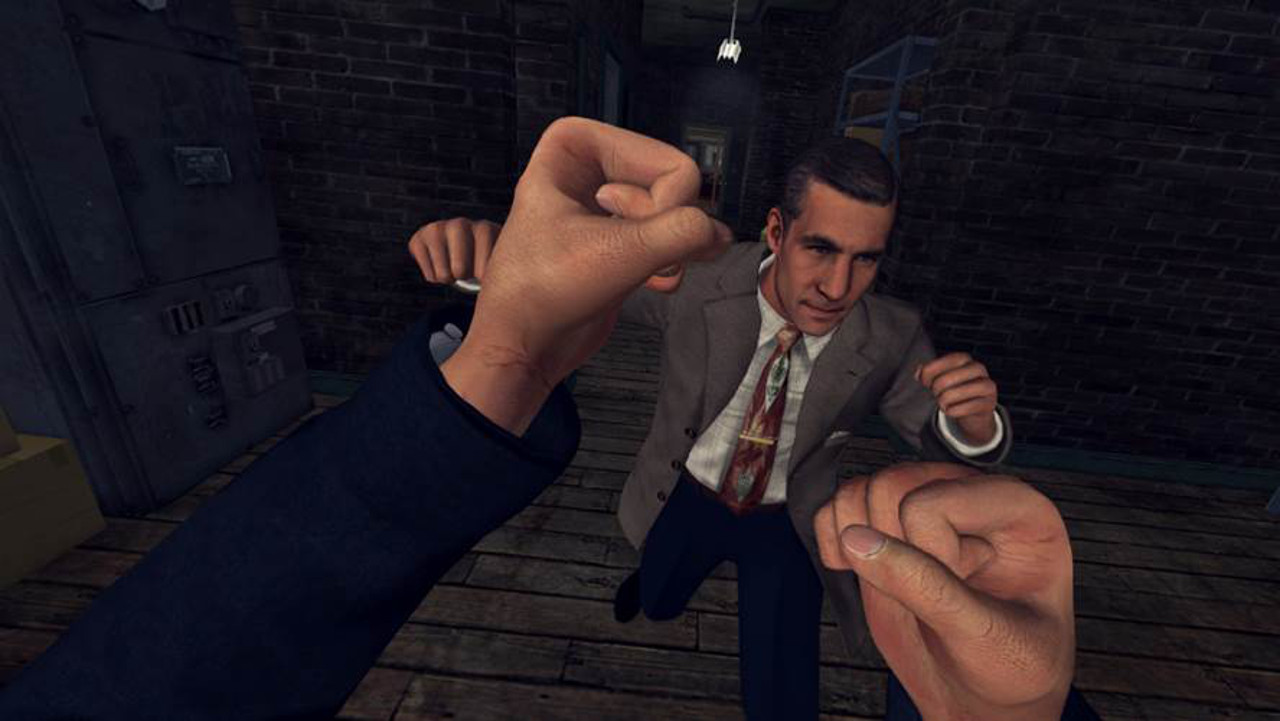 L.A. Noire The VR Case Files per HTC Vive è disponibile da oggi