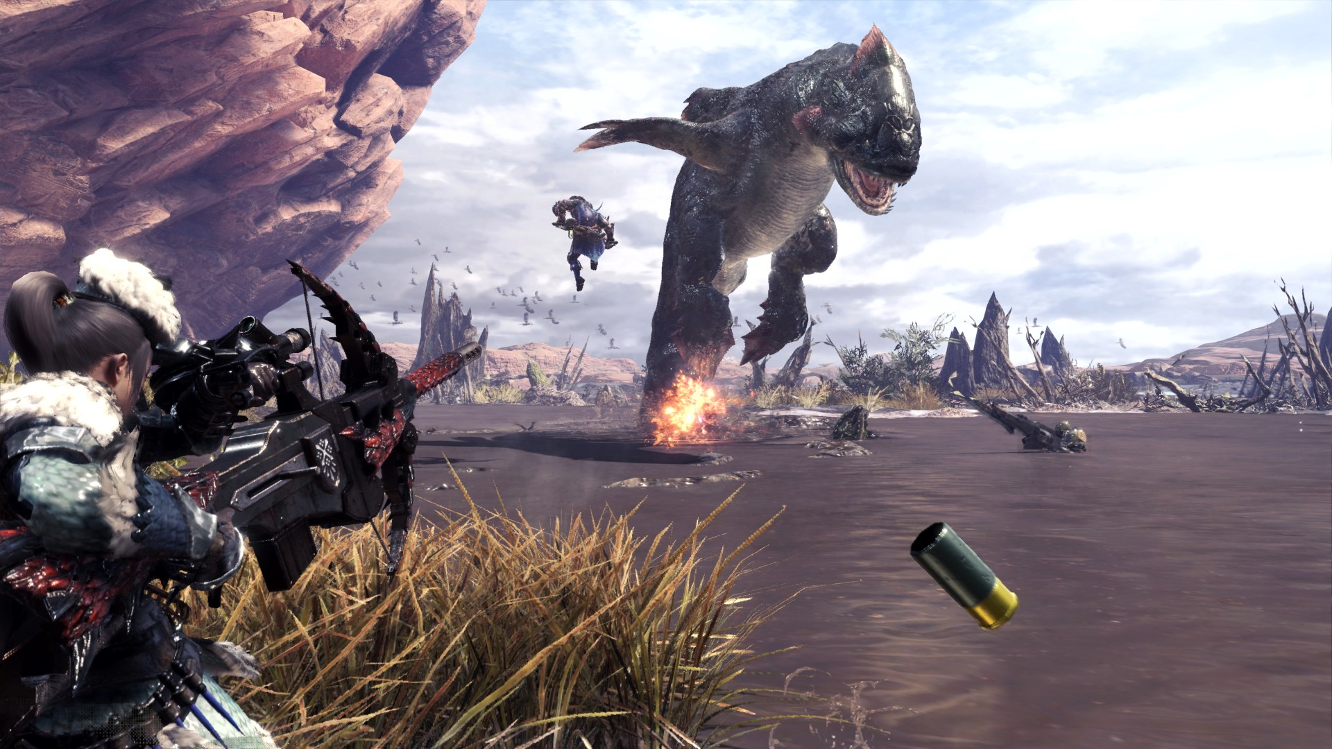 monster hunter world anteprima ps4