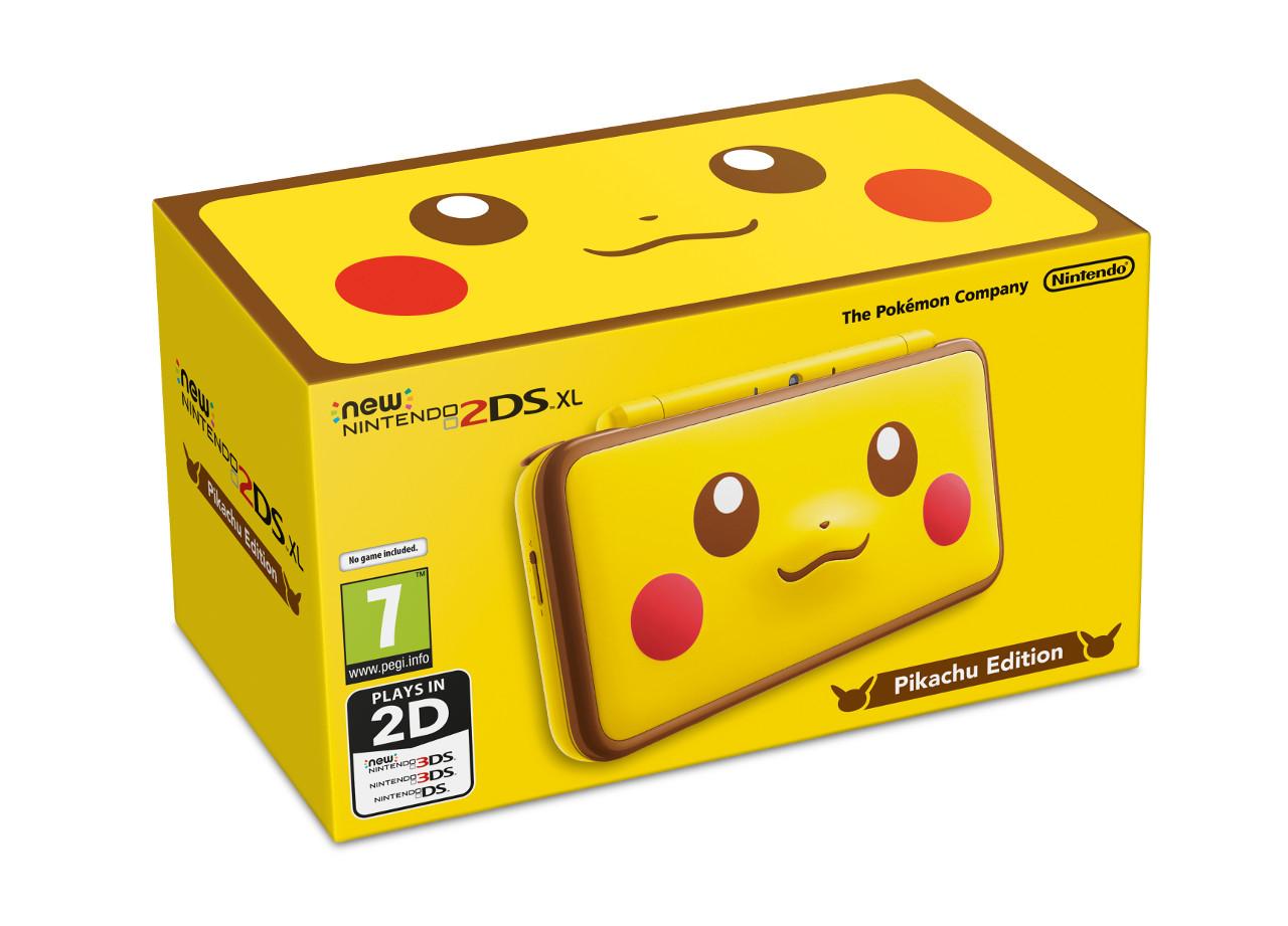 Pokémon Versione Cristallo in arrivo su 3DS, svelato il New Nintendo 2DS XL Edizione Speciale Pikachu