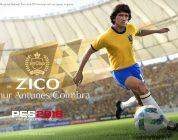 PES 2018: Zico diventa nuovo Ambasciatore e Giocatore Leggenda