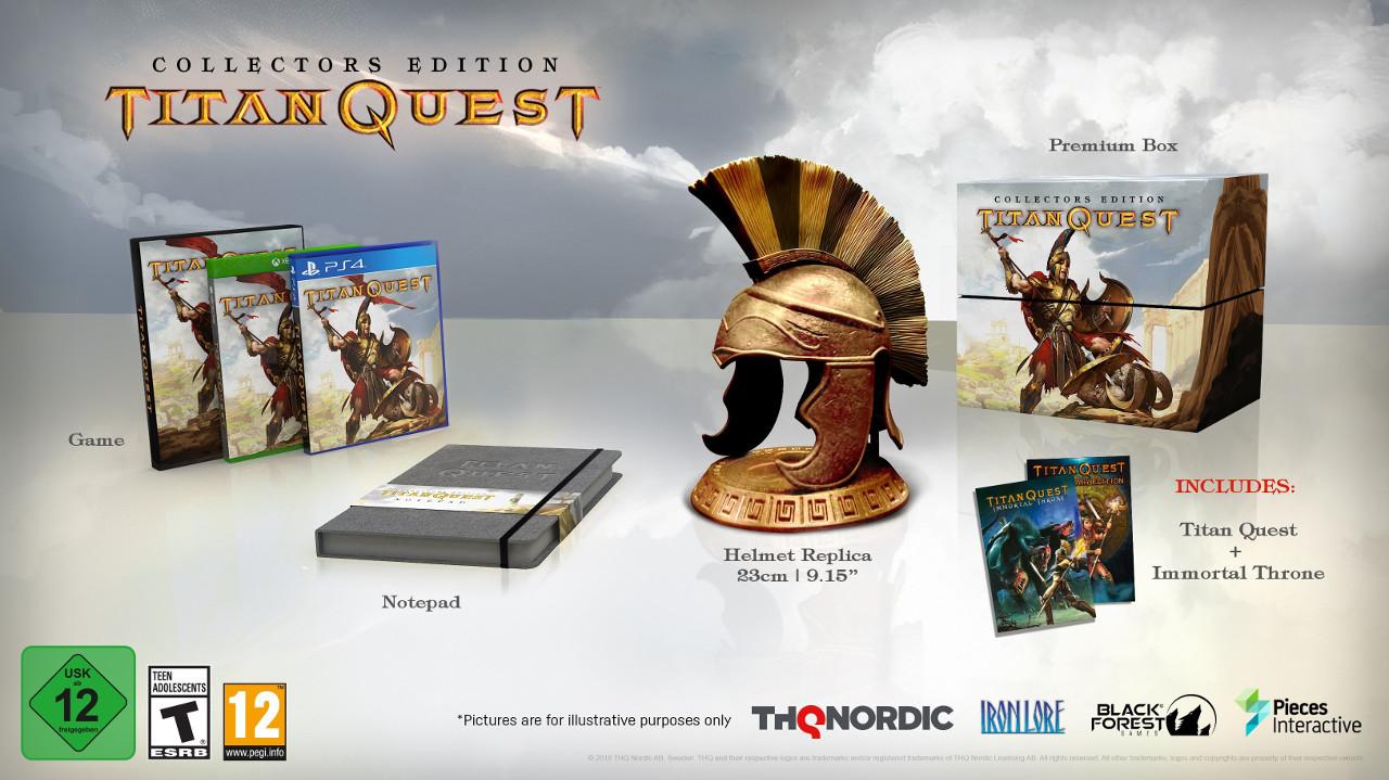 Titan Quest annunciato per PS4, Xbox One e Switch