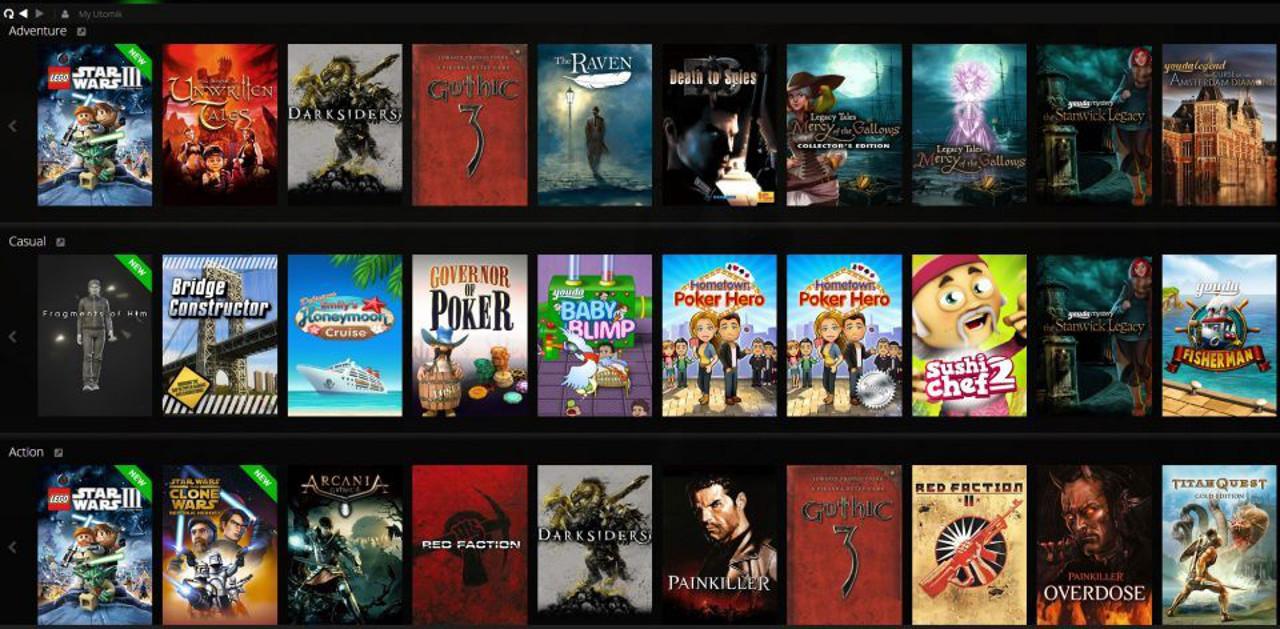 Utomik, il servizio streaming di giochi per PC, verrà lanciato ufficialmente il prossimo anno