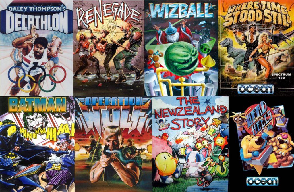 Bob Wakelin cover videogiochi