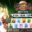 Dragon Ball FighterZ: svelato il roster dell'open beta