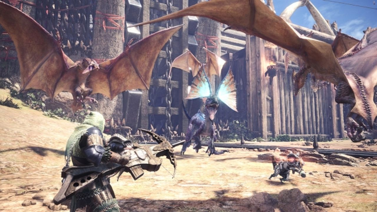 Monster Hunter World: parte domani la collaborazione con Horizon