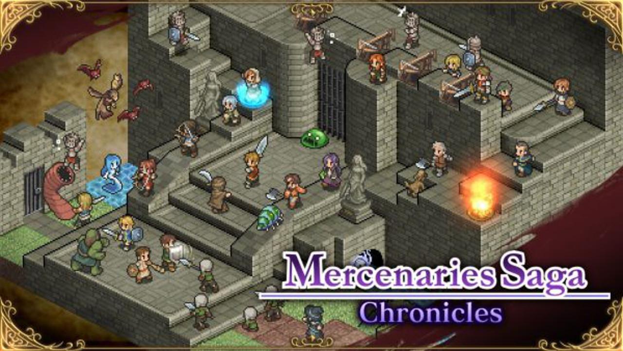 Mercenaries Saga Chronicles annunciato per Switch