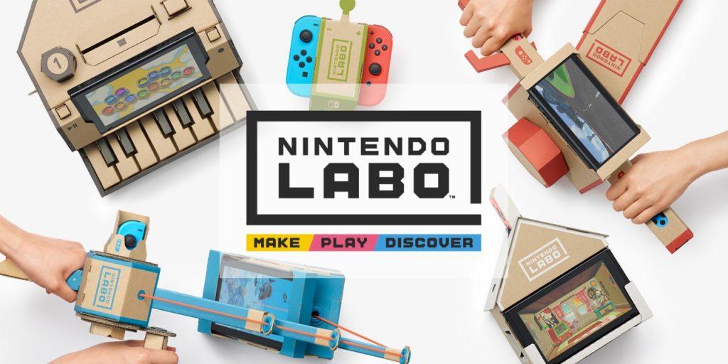 Nintendo Labo progetti