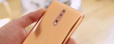 Nokia 8 recensione apertura