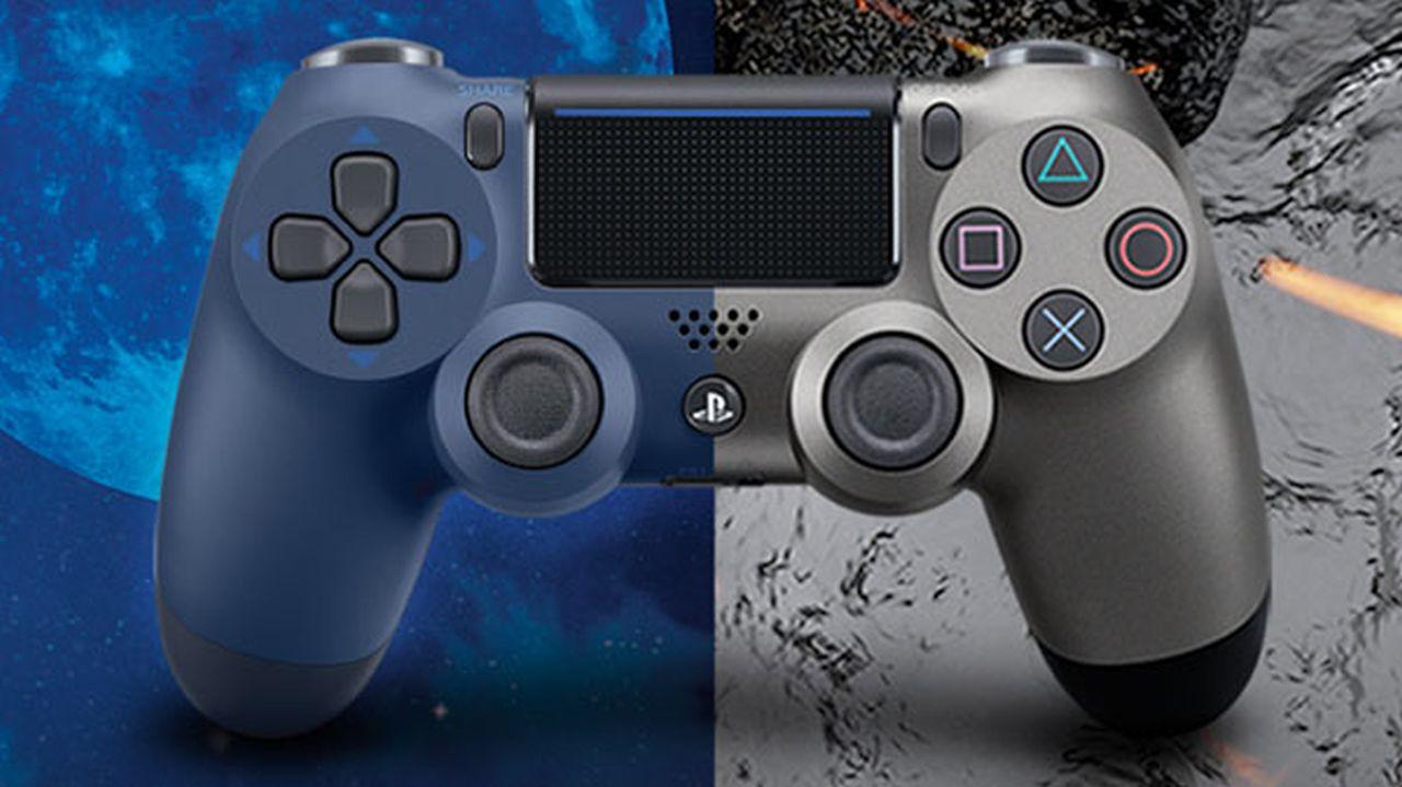 DualShock 4: annunciate le colorazioni Midnight Blue e Steel Black