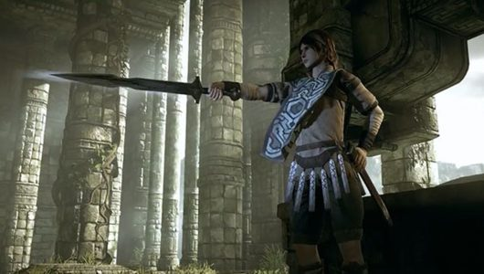 bluepoint games remake Shadow of the Colossus story trailer