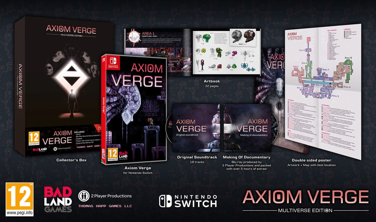 Axiom Verge Multiverse Edition è disponibile da oggi