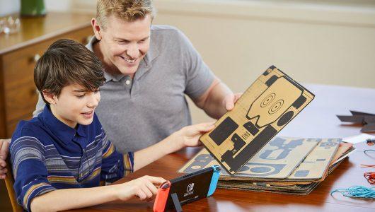 Nintendo Labo azioni