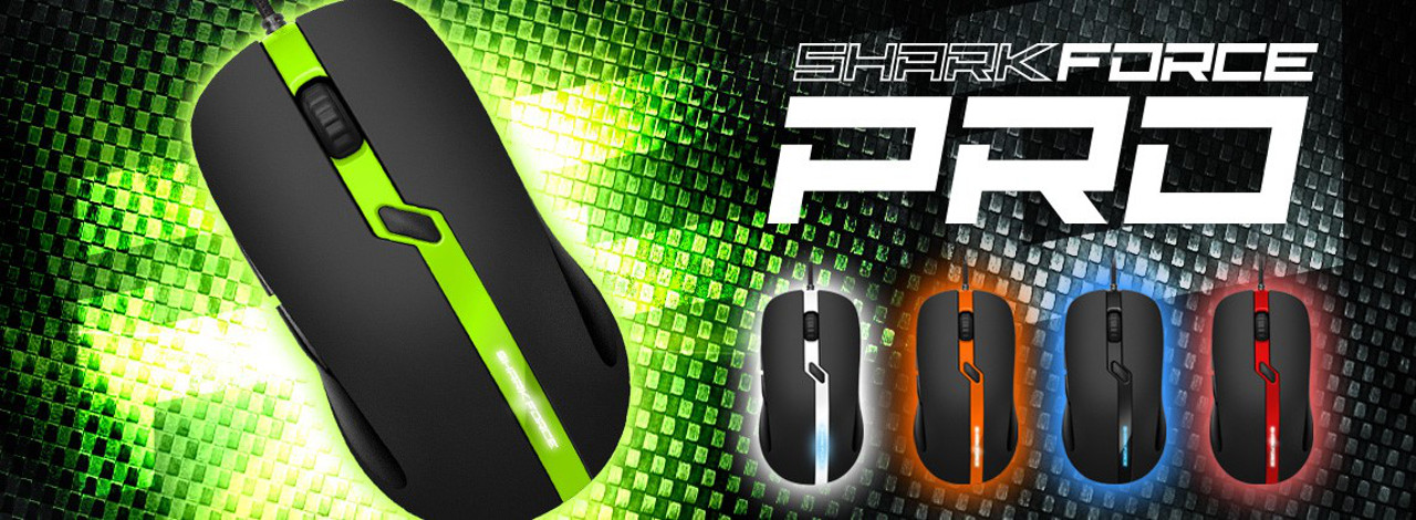 Sharkoon lancia il nuovo mouse da gaming Shark Force Pro