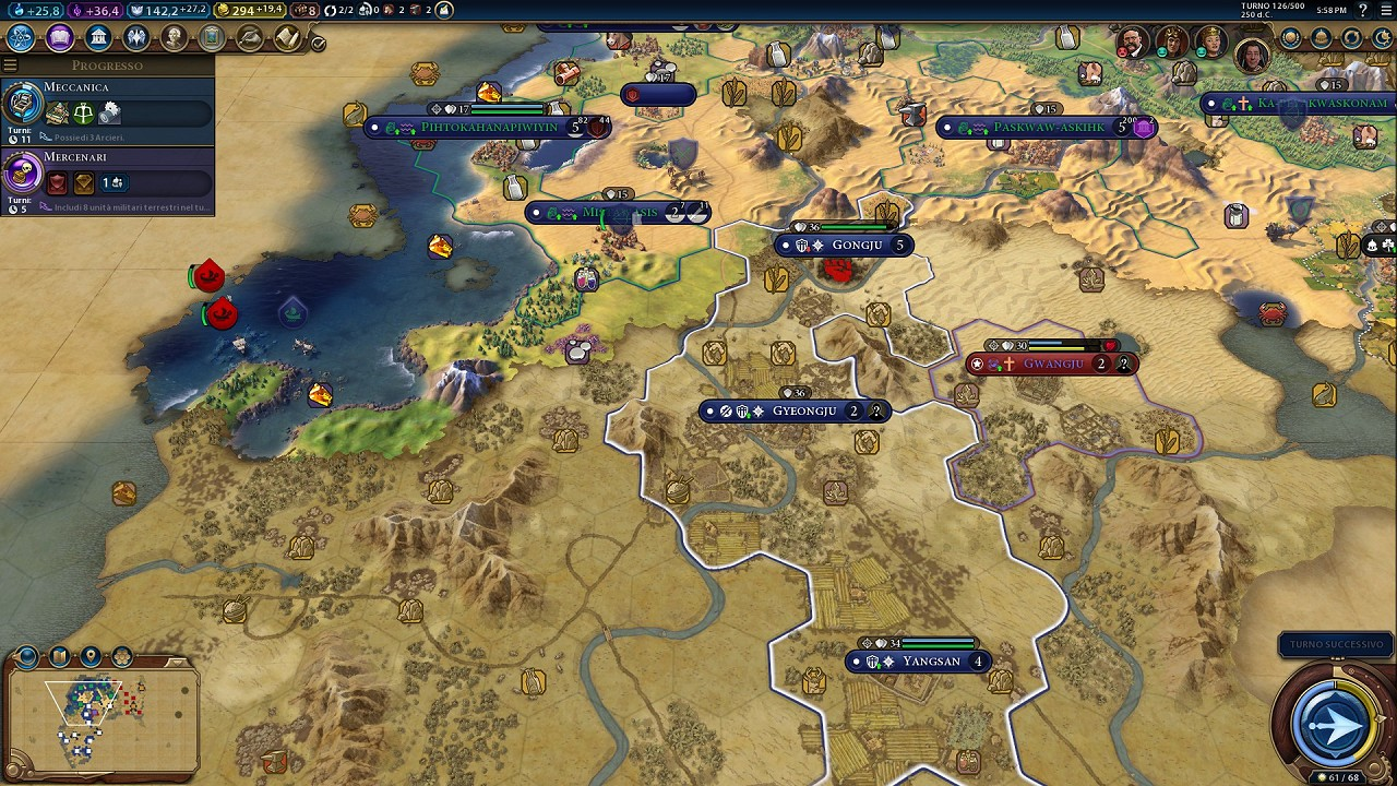 Civilization VI Rise and Fall immagine PC 04