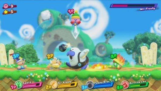 Kirby Star Allies: un nuovo gameplay svela livelli e boss inediti