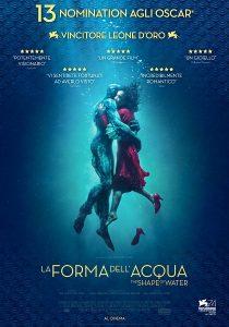 La Forma dell'Acqua immagine Cinema locandina