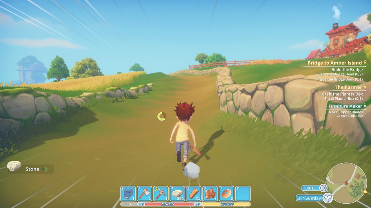my time in portia how to delete machine