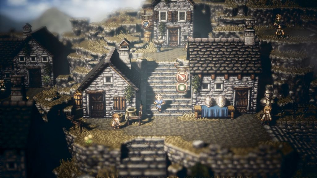 Project Octopath Traveler screenshot
