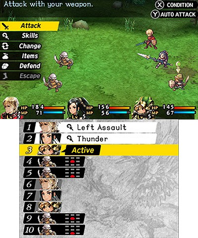 Radiant Historia Perfect Chronology immagine 3DS 02