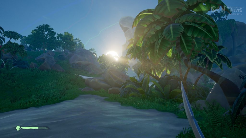 Sea of Thieves scale test