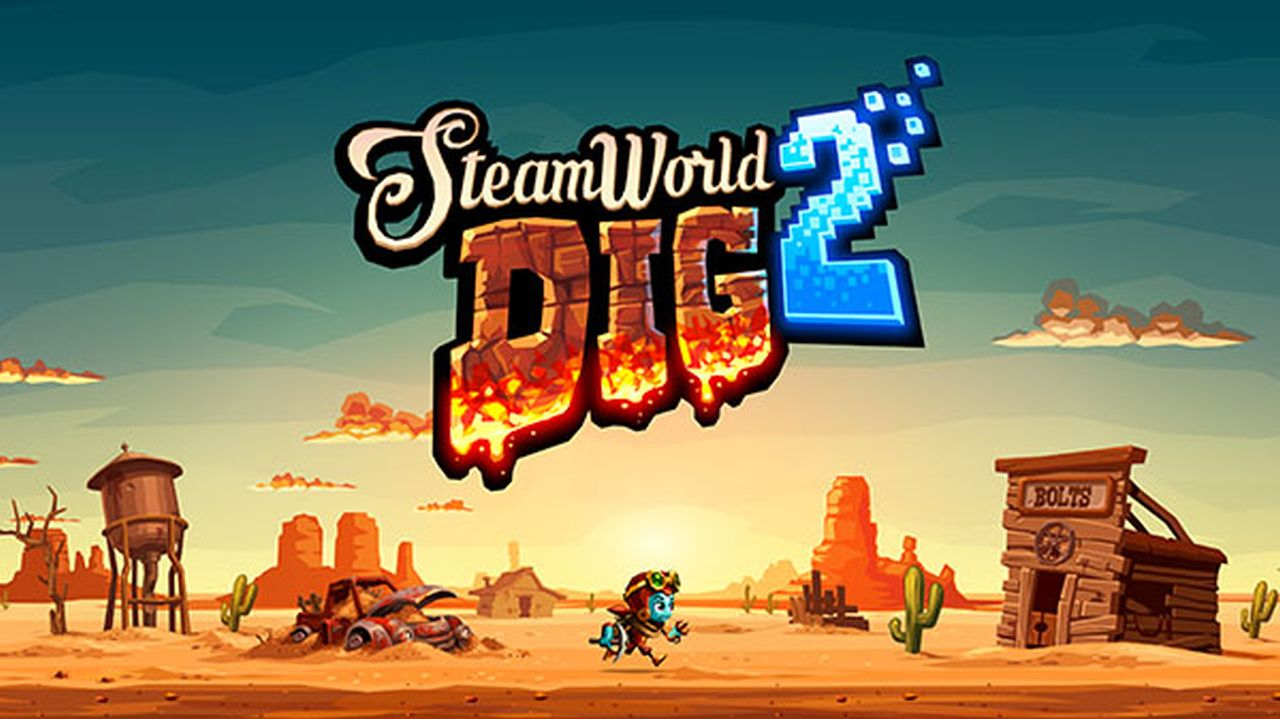SteamWorld Dig 2 in uscita su PS4 e Nintendo Switch