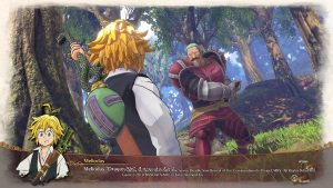 The Seven Deadly Sins Knights of Britannia immagine PS4 01
