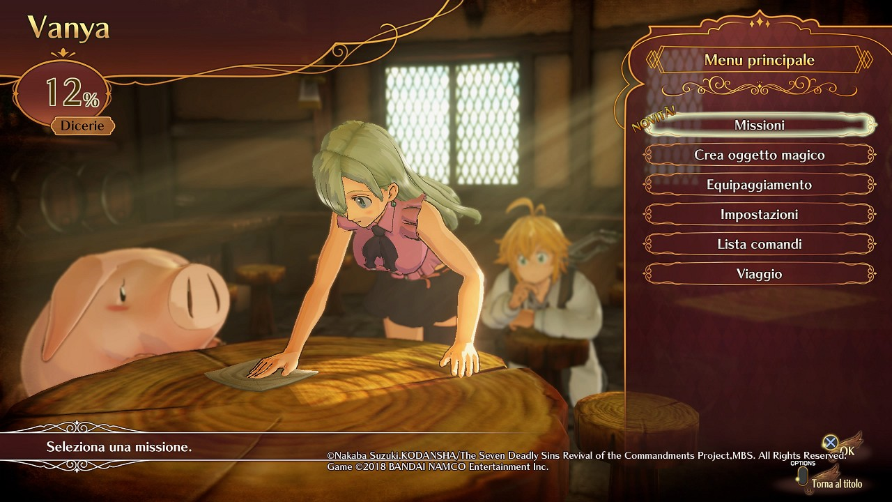The Seven Deadly Sins Knights of Britannia immagine PS4 03