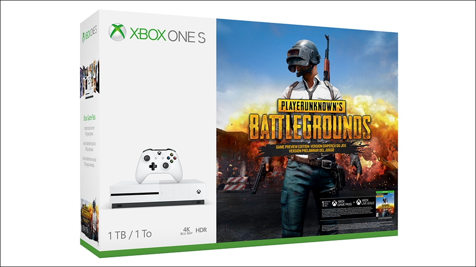 Xbox One S Playerunknown's battegrounds bundle