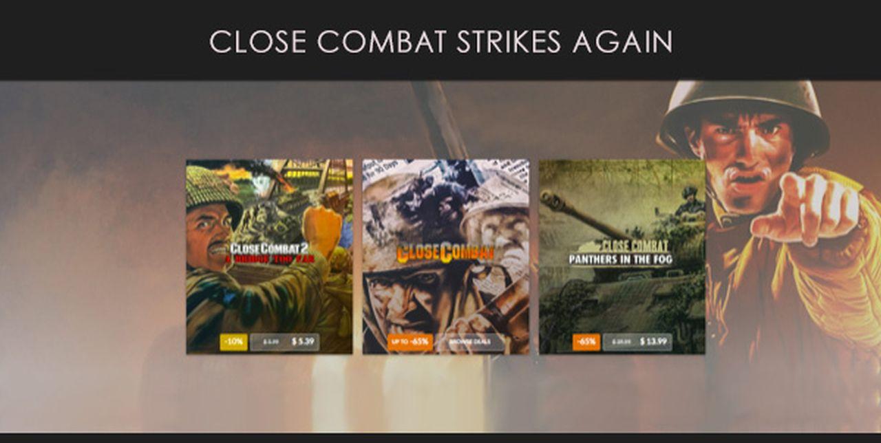 La serie di Close Combat approda oggi su GOG.com