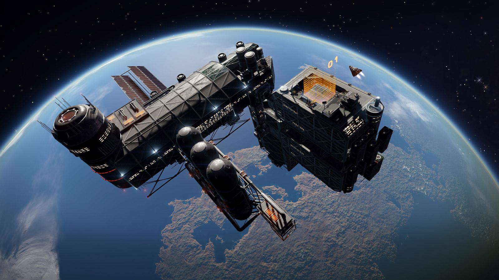 elite dangerous stazione spaziale