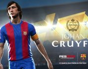 PES 2018: torna in campo la leggenda Johan Cruyff