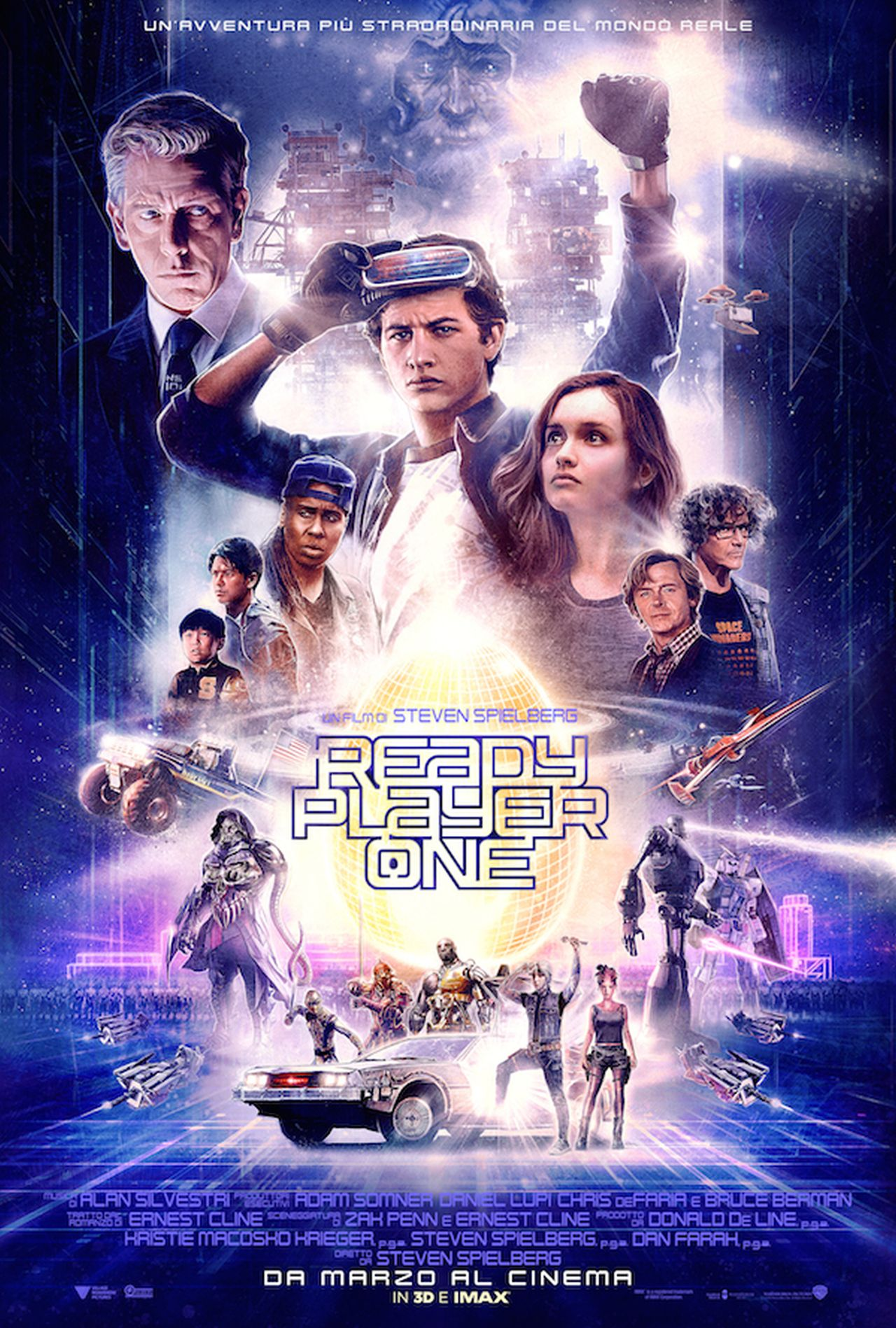 Ready Player One si presenta con una nuova locandina