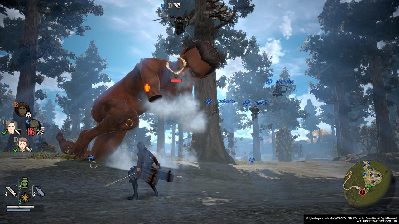 Attack on Titan 2 immagine PC PS4 Switch Xbox One 10