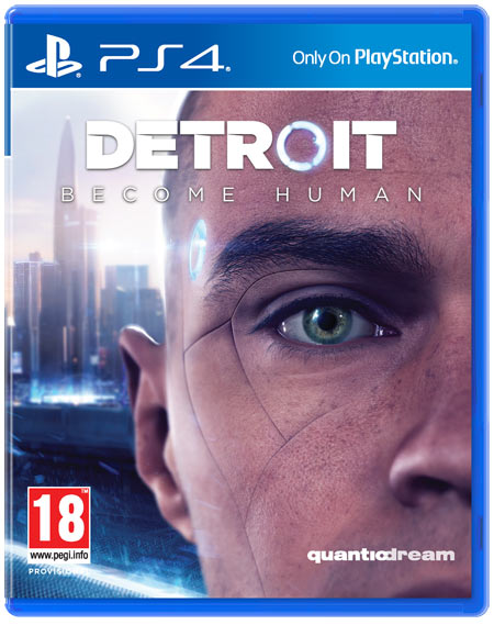 Detroit Become Human cover ps4