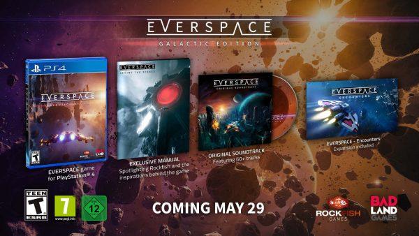 Everspace giungerà presto su PS4 in forma di Galactic Edition