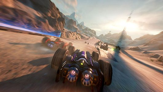 GRIP Combat Racing: un nuovo gameplay per la versione Switch