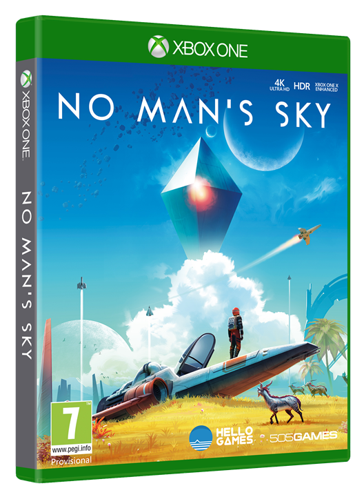 No Man's Sky Xbox One cover