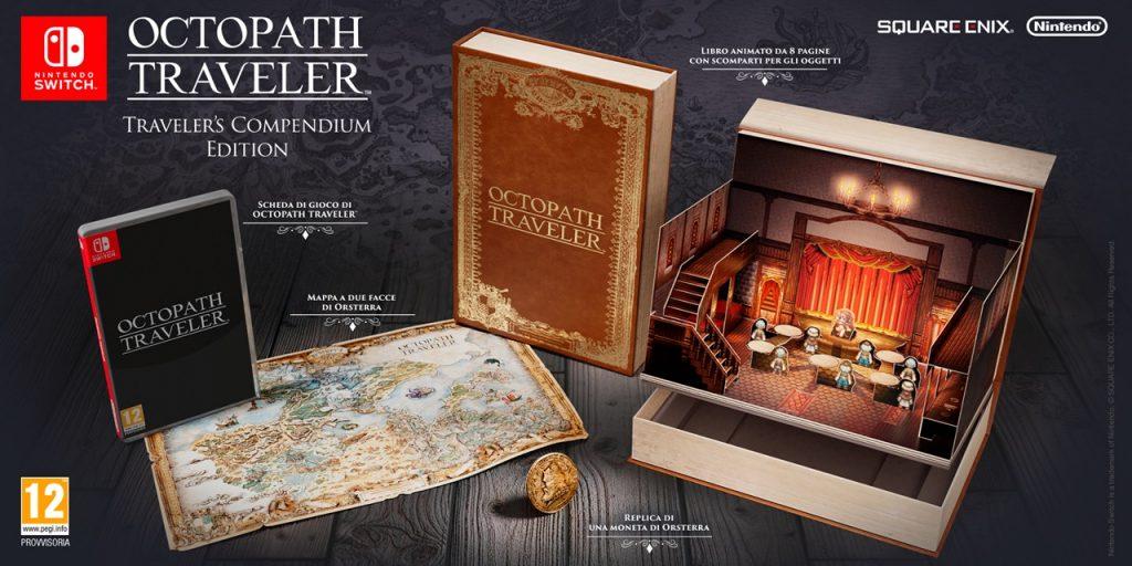 Octopath Traveler Traveler's Compendium Edition