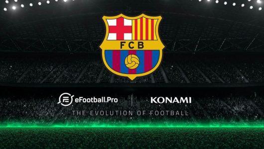 PES 2018: FC Barcelona prenderà parte al campionato eFootball.Pro