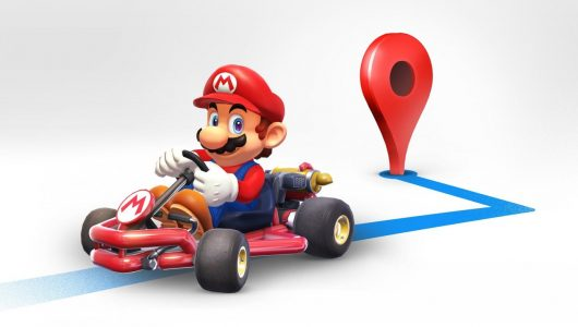 Super Mario Google Maps