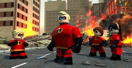 LEGO Gli Incredibili: pubblicato un nuovo gameplay con la famiglia Parr