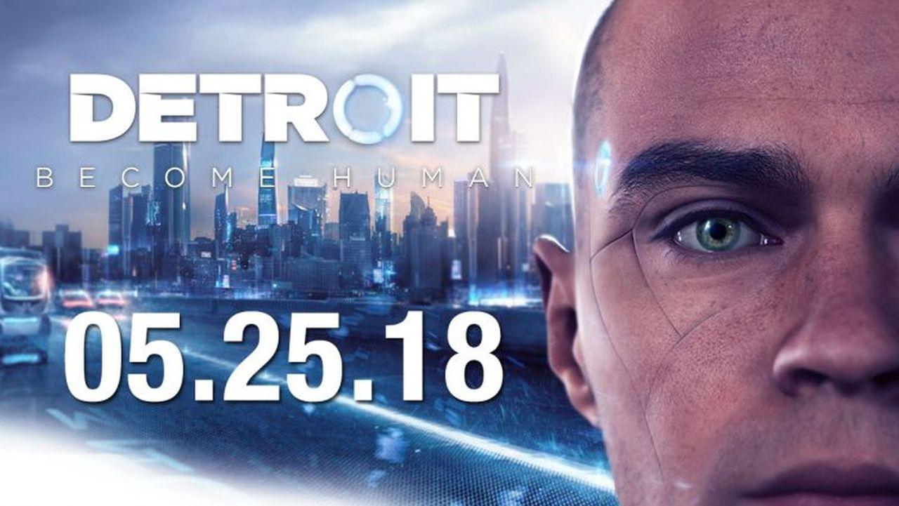Detroit Become Human ha finalmente una data d'uscita