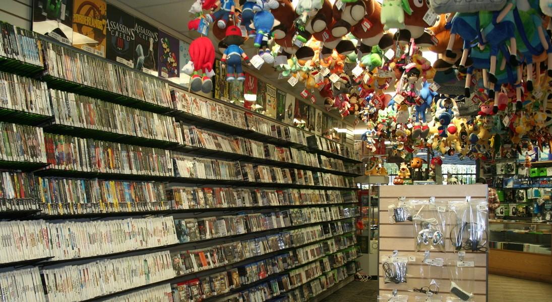 negozio di videogiochi editoriale