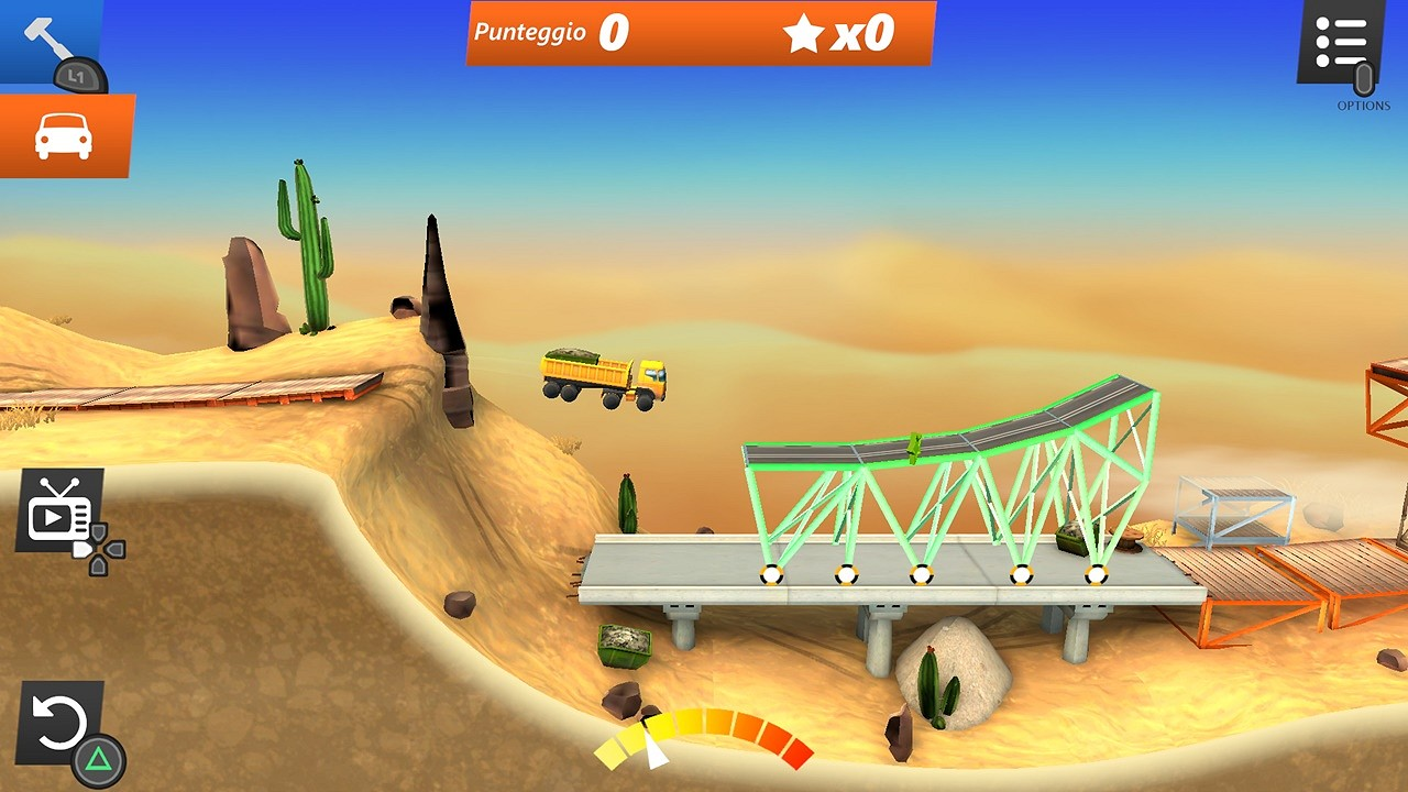 Bridge Constructor Stunts PS4 recensione 02
